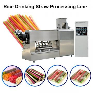 Edible Food Grade Drinking Straw Production Line / Making Machine