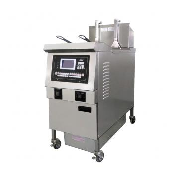 Commercial Gas Deep Fryer with Griddle Kitchen Equipment