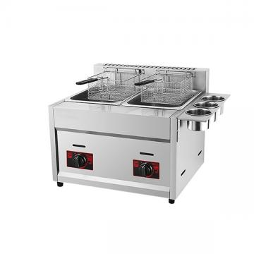 Commercial Tabletop Gas Deep Fryer for Restaurant