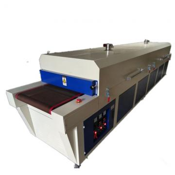 Infrared Ray Hot Drying Tunnel Conveyor Oven for Plastic Silicone Materials