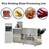 Rice Drinking Straw Making Extruder Machine / Sustainable Eco Friendly Products Processing Line